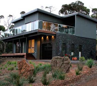 Apollo Bay accommodation- architectural house image